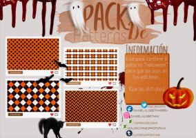 ~.Pack de Patterns #23 {Halloween} by ISirensDesigns