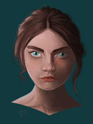 Portait by Aenwynn
