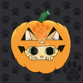 thesweatercats - Halloween Pumpkin Punkin by colormymemory