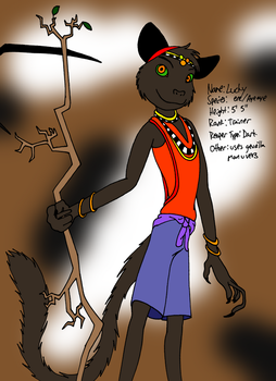 Reapers Harvest: Char Ref: Lucky by Yo-Snap2