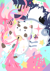 Bee and Puppy cat : Puppycat!! by MOSQUILA