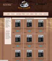 CoffeeShop - Store Page by 5p34k