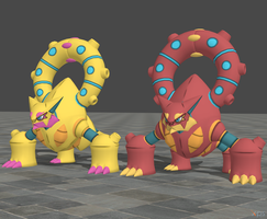 XPS Pokemon X and Y Volcanion
