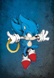 Sonic the Hedgehog by BasilTwistedToons
