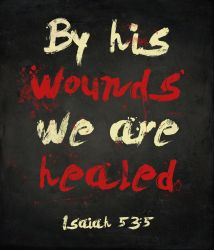 By His Wounds by Blugi