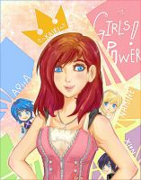 KH's Girls POWER! by Kaira-Hiwatari