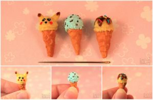 Miniature Ice Cream by EmisBakery