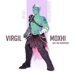 DnD character design: Virgil by ABD-illustrates