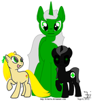 Different Worlds - pony sizes by K4nK4n