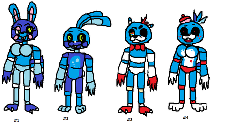 Fnaf adopts!! Special -- Batch 2 by SonicLover1523