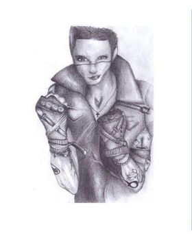 Andy Biersack drawing - FINALLY READY! *-* by IWillSeeTheStars