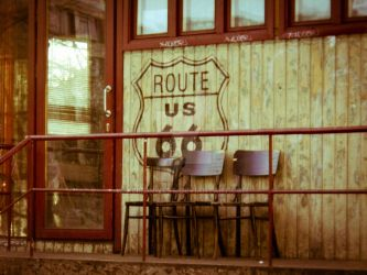 Route 66 Photography Print by KeironWest