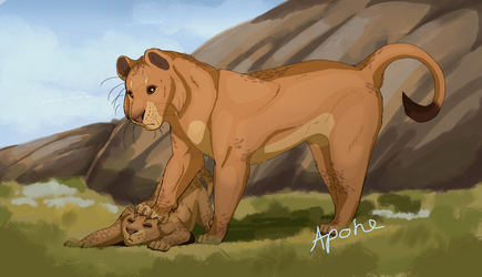 TLK!AU - The youngest by Apohe