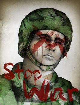 Stop War by Mutevict1m