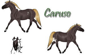 Caruso Reference Sheet by LittleHooves