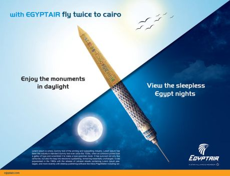 Egypt air double daily by Ahmadrefaat