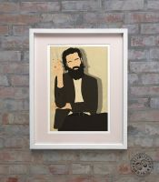 Father John Misty Minimalist Posteritty Posters by Posteritty