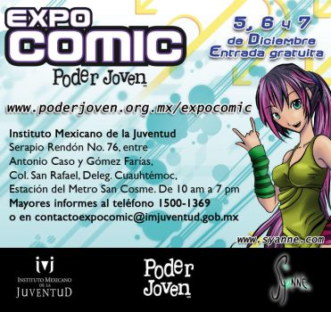 Expo Comic Poder Joven by Syanne