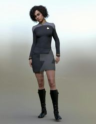 Commander Brooke Massina Starfleet Intelligence by StalinDC