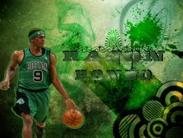 Rajon Rondo-Boston Celtics by MuzafferSenel