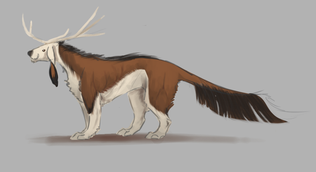 Forest creature by Lejla99