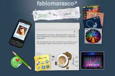 Personal Homepage by marbio17
