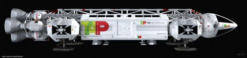 Space: 1999 - TAP Air Portugal by Tenement01