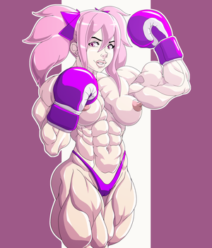 Kawaii Boxer in another style by devmgf