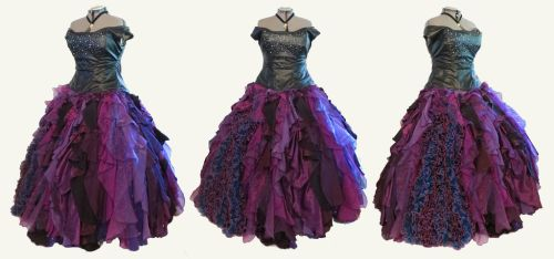 Designer Ursula Cosplay Ball Gown by glimmerwood