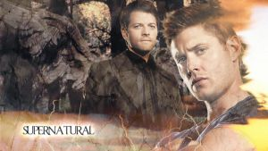 Dean and Cas Supernatural by anuminis