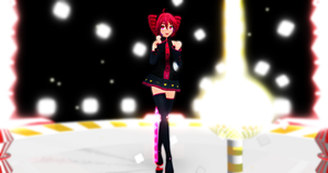 [MMD NC] Colon Teto Kasane [Model Download] by monobuni