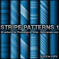 Stripe 1 Patterns by AscendedArts