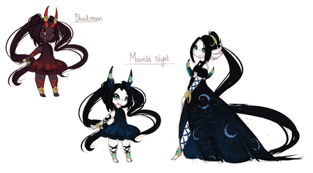 Moonlight design by Yufika