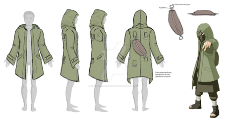 Design of a Jacket - Commission by GuardianOfNightmares