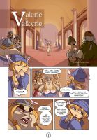 Valerie the Valkyrie 1 by Curly-Artist