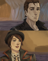 Tales from the borderlands redraw by soldagarius