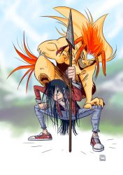Ushio and Tora (col) by COS1987