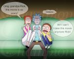 Rick and Morty -  Scary Movie Night by Championx91