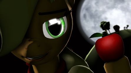 Apple Of The Night by WIIZZIE