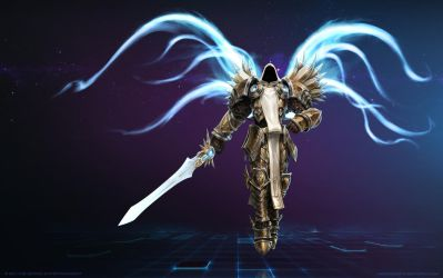 Tyrael, Archangel of Justice by Mr--Jack