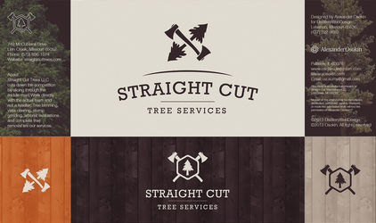 Straight Cut Logo by Osokin