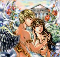 Eros and psyche color unfinish by bluemoon214