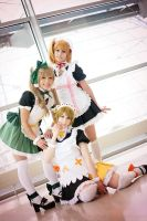 Love Live! Printemps Meido by kazenary