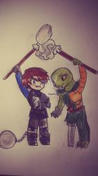 Cleaning Buddies by Squira130