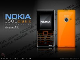 Nokia 3500c by paundpro