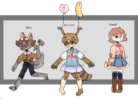AUCTION: Wolf,Raccoon,Sheep. SB 10 pts! by T00M0X