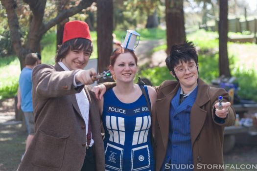 Two Doctors and a Tardis by Stormfalcon
