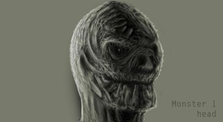 Monster 1 Head by sargeaxa