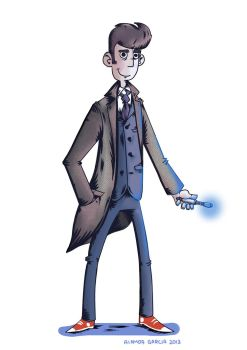Doctor Who by Dafnecilla