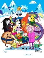 Adventure Time Come On Grab Your Winter Clothes by chloisssx3